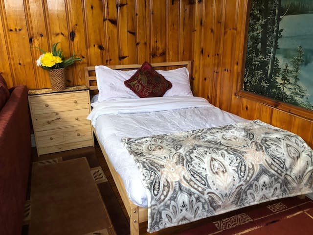 Cosy spacious studio with private bath, kitchen