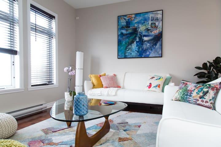 Charmant  et spacieux condo à la française - Montréal - Apartment