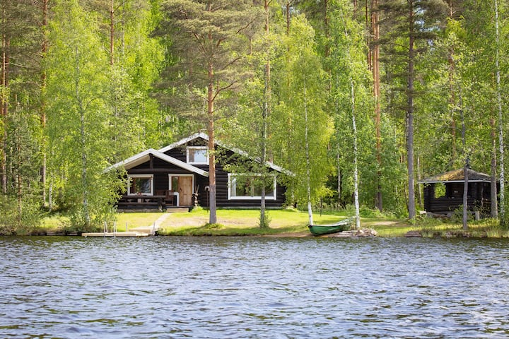 Tatunmökki - Raudanniemi, with private beach