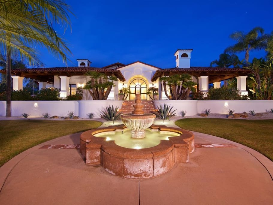 Welcoming entrance to your oasis.