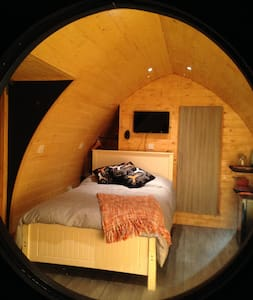 Cosy Lodge 2, Central Location (sleep up to three) - Churchtown - Nature lodge - 1