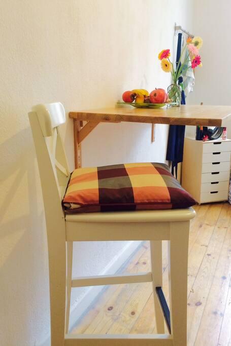 Chiller Sitz und das in der Küche!