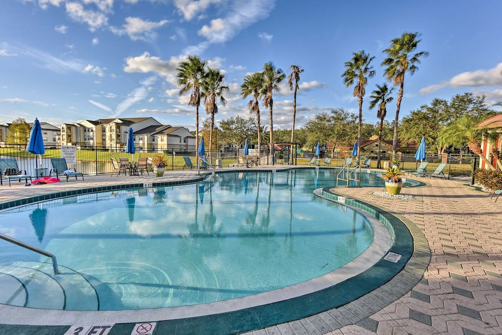Everyone will love their access to resort amenities including this lavish community pool.