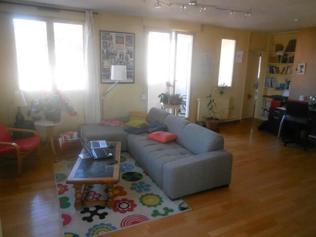 3 chambres (4 lits) - Saint-Étienne - Apartment