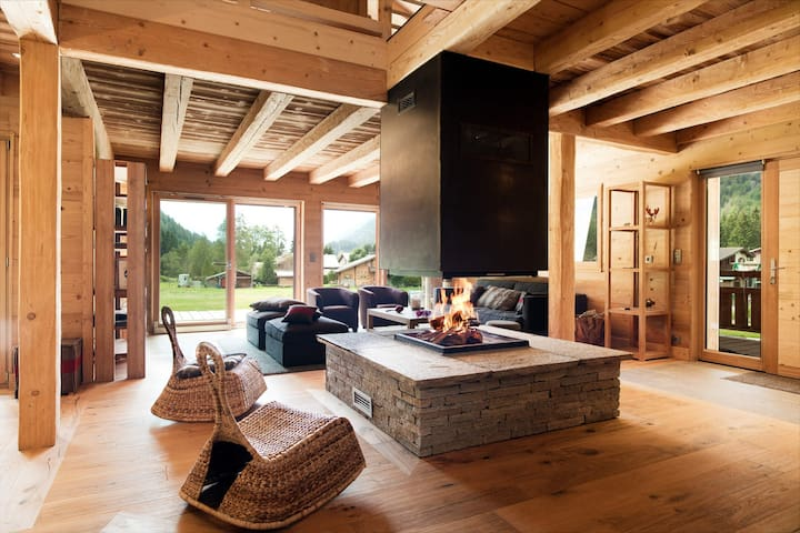 HEVEA - Superb chalet for 10/12 people between Chamonix and Argentiere - ARGENTIERE - Bungalo