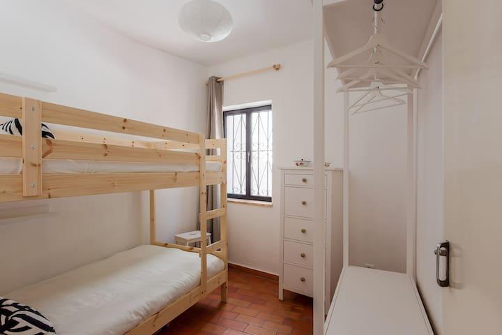 Ground Floor: Bunk-bed Room (2 Pax)