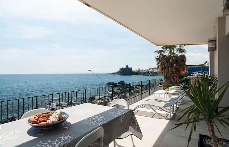 Prua sul mare - Aci Castello - Wohnung