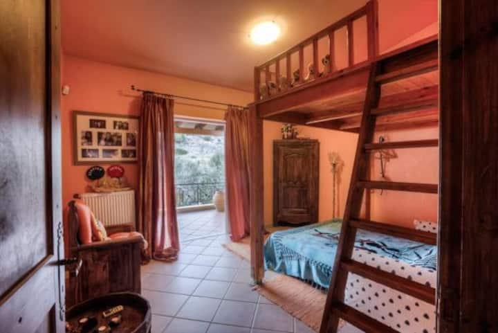 """""""Casa di Luce"""" stanza privata """"Fuoco"""""""
