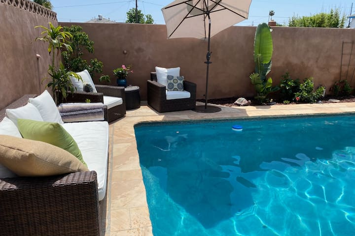 Private Suite with Exclusive Pool Access