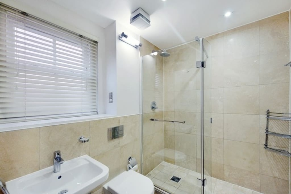 Master Ensuite Bathroom with Walk-in Shower