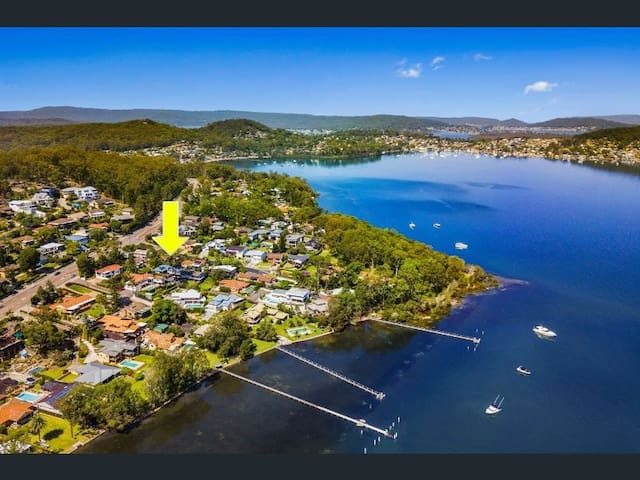 Arial view - as you can see close to Brisbane Waters