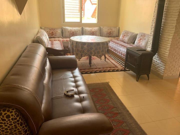 Belle appartement, les jardins d'ifrane