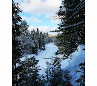 10 Acres of Riverfront Seclusion - Irondale - Kabin