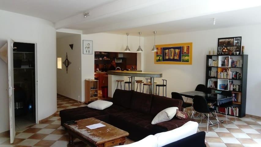 Appartement lumineux et calme