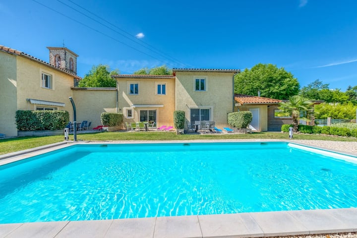Secluded Holiday Home in Gagnières with Swimming Pool