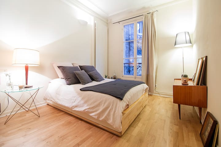 Lovely & Cosy Room near Batignolles - Paris - Apartment