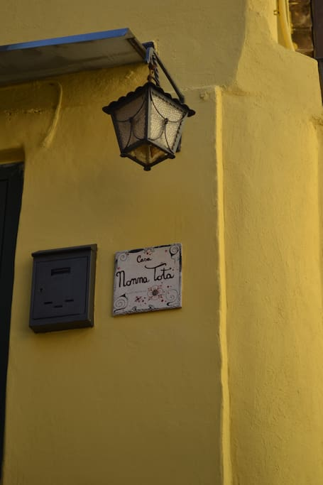 ingresso e nome della casa