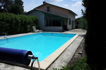 Maison familiale  sympa - Cissac-Médoc - Casa