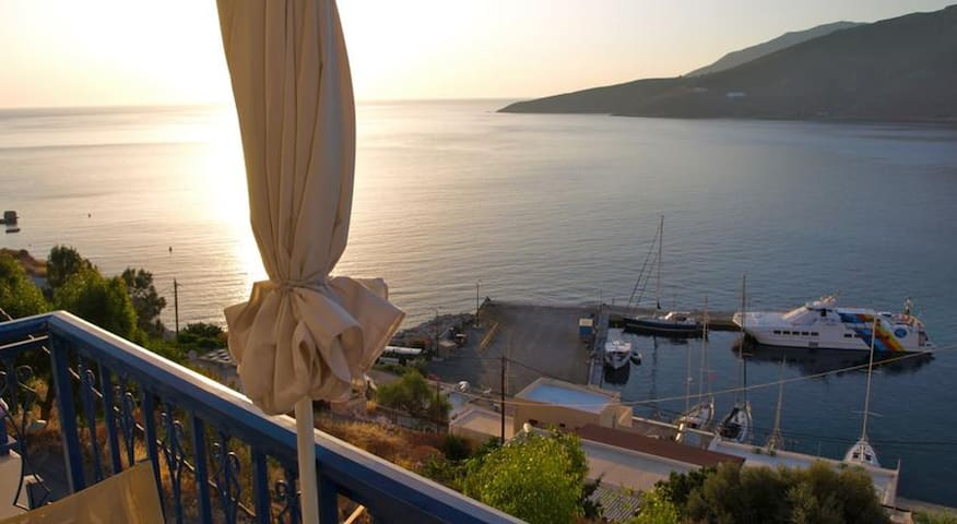 Michalis Studios Tilos - Livadia - Appartement