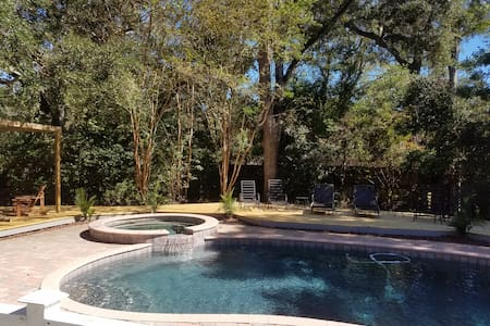 Private Pool - Near Beach and Village - Saint Simons Island