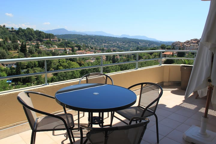 2 rooms  close to the city center - Vence - Apto. en complejo residencial