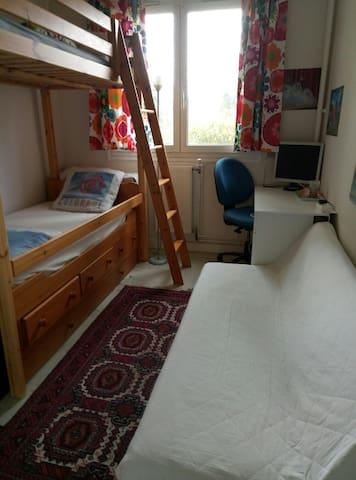 Une chambre privé