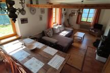 livingroom and table