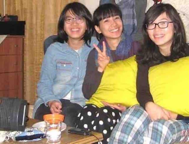 Girls Sharing room غرفة للبنات  TRAM STREET