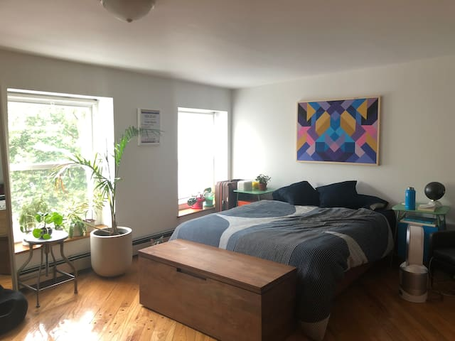 Big studio in beautiful Cobble Hill by waterfront