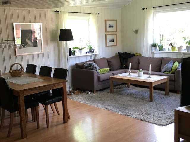 Idyllisk, lite hus nær Oslo. - Nittedal - Casa