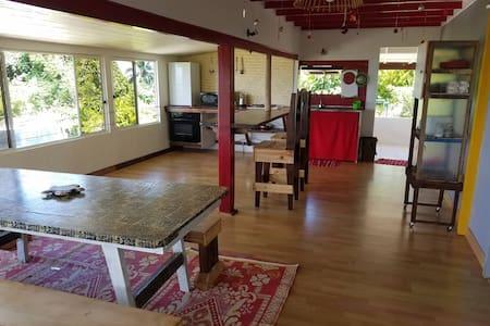 RAIATEA, Fare A'ahiata ( Maison de l'Aube)