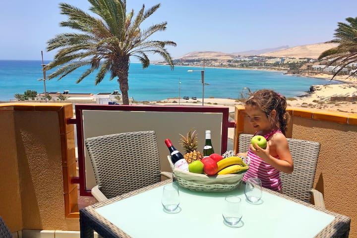 PANORAMA - wonderfull oceanview !!! Free WiFi - Pájara - Lägenhet