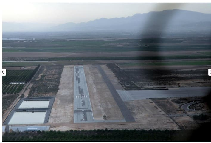 Apartment 2. LELH Airpark (With Aircraft Parking). - Alhama de Murcia - Pis