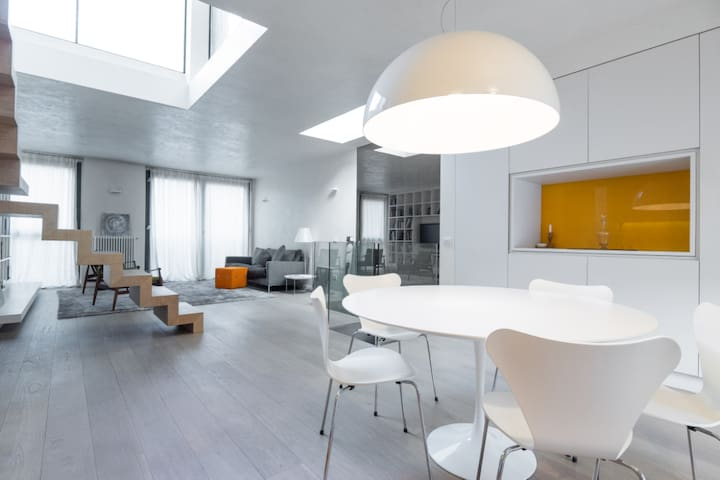 open space kitchen 70sq