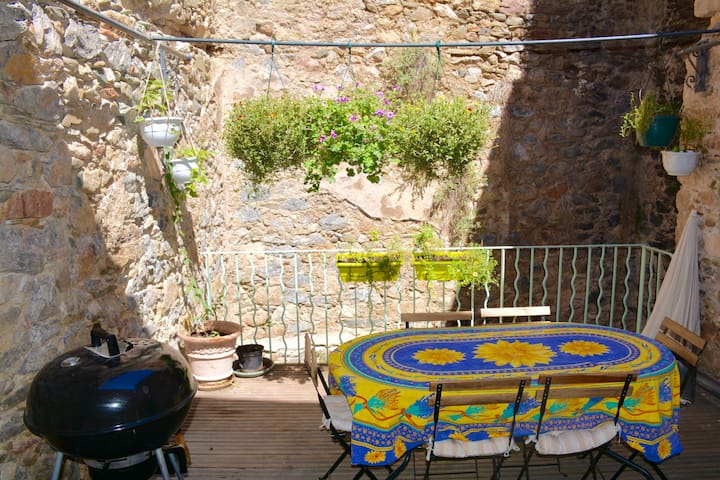 La Colette- medieval,character home - Caunes-Minervois - บ้าน