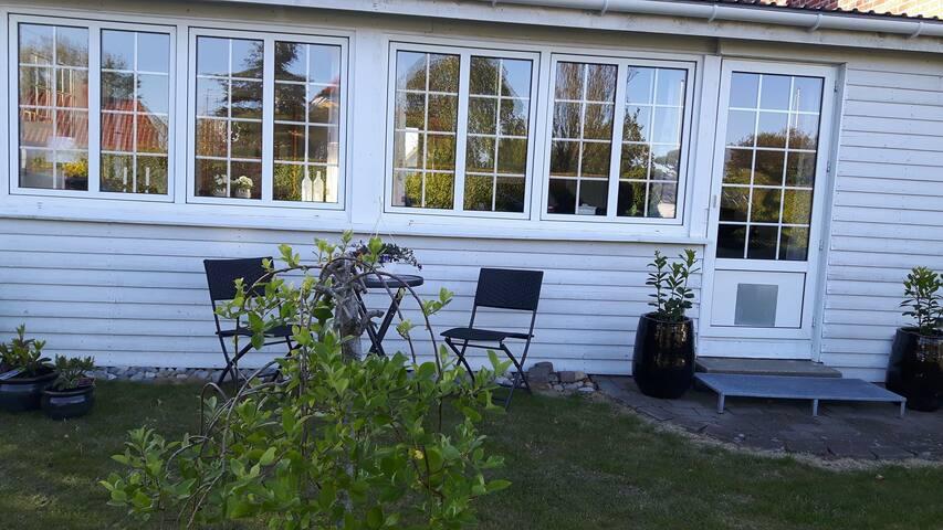 Villa, 10 min. fra centrum af Ribe