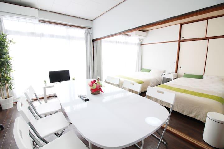 ☆Katase-Enoshima☆sta 4min/Luxury OPEN!! MAX 10ppl - Fujisawa - Apartamento
