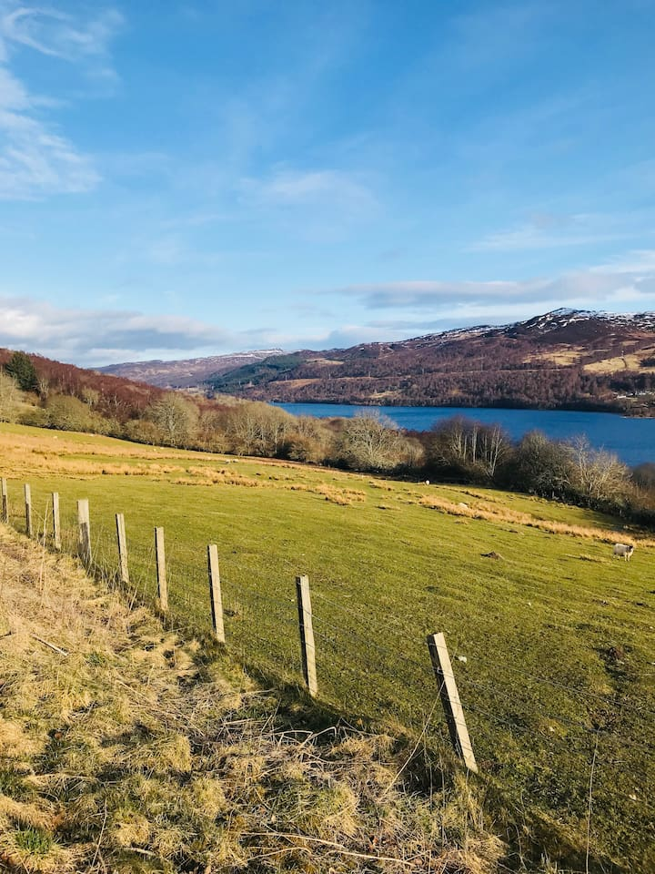 Loch Tummel - Stunning walks with beautiful views