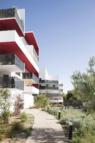 Bel appart design proche des plages &centre ville