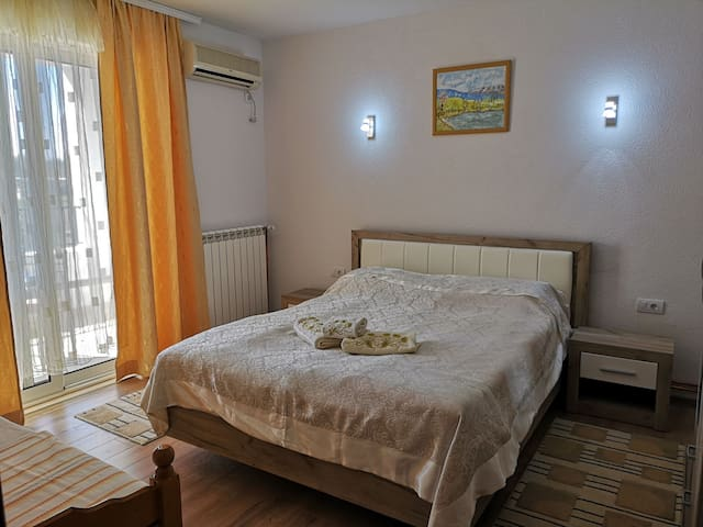 Comfortable and sunny apartment with balcony - B1