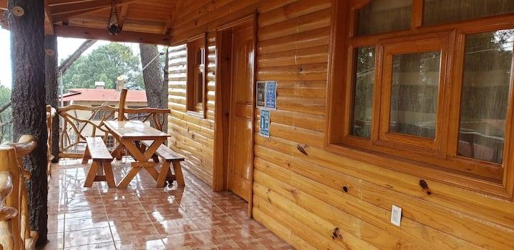 Cabaña Loma Bonita rumbo a los Cazos