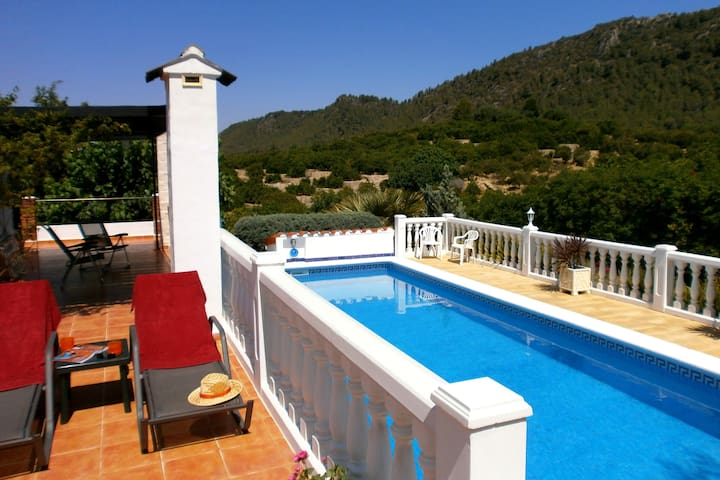 """Para Dos""  5★ rural tranquility for couples. - Alzira - Bungalow"