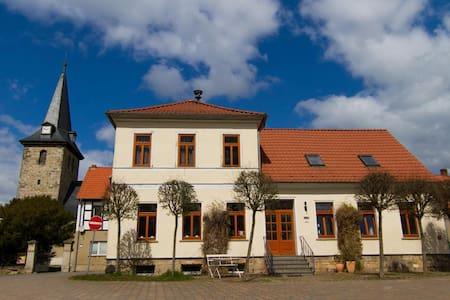 Großes Ferienhaus Ballenstedt am Harz
