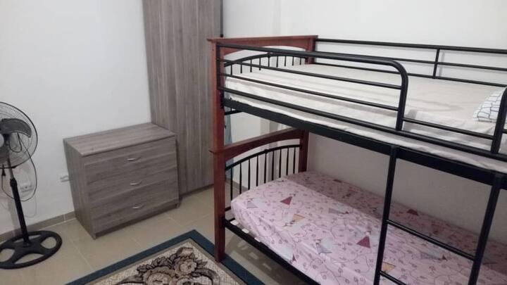 Appartement meublé en bord de mer
