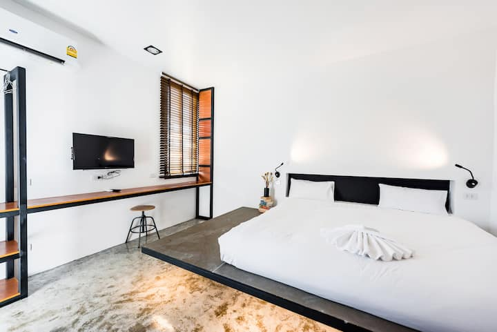 Loft Modern style- Studio room in Phuket Old Town
