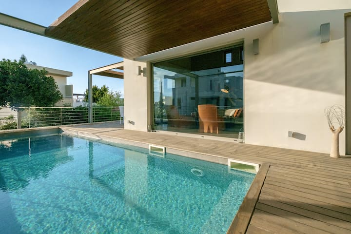 Spectacular Modern Art Villa with Private Pool