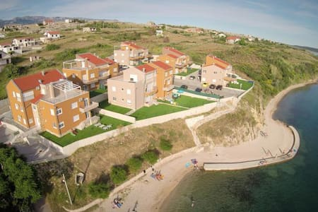 Apartmán v Chorvátsku na pláži - Rtina - Apartment