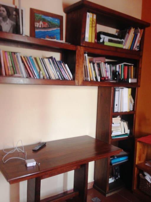 Módulo para estudio y  computadora
