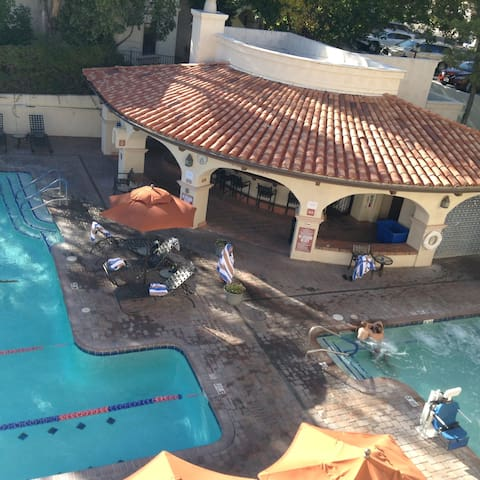 Amenities plus location at Los Abrigados
