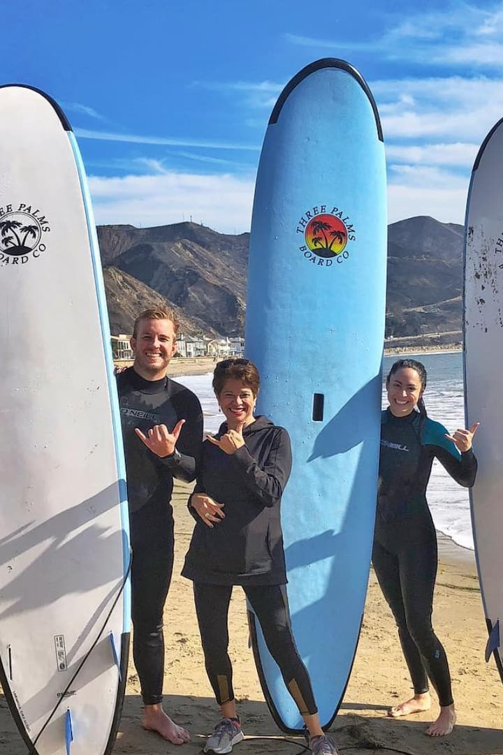 Voted #1 Surf Lessons in Santa Barbara!